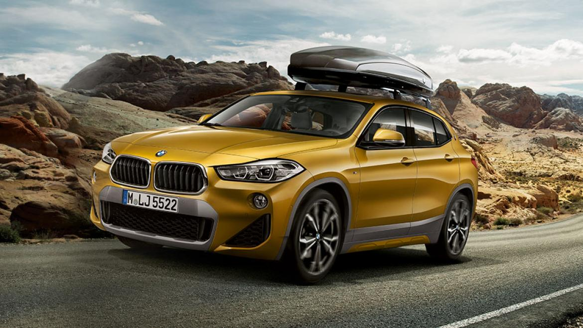 Action Stock BMW X2